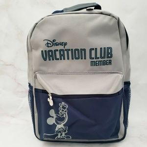 DVC Disney Vacation Club Member Backpack Grey Blue